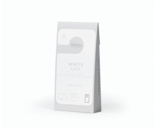 Mr & Mrs Fragrance - White Lily - Zapach do wnętrza - Kartonik