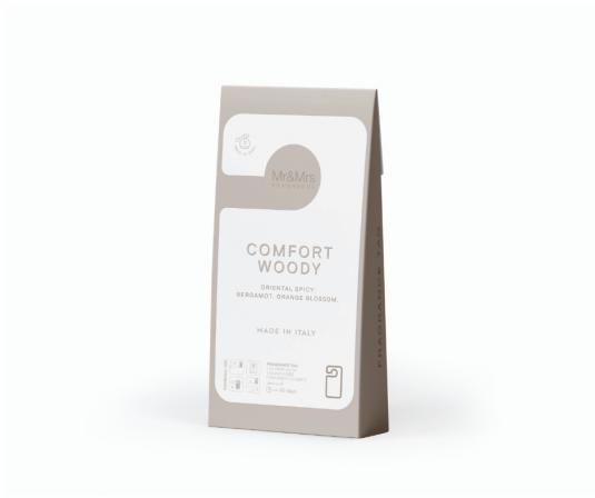 Mr & Mrs Fragrance - Comfort Woody - Zapach do wnętrza - Kartonik