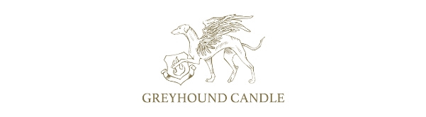 Greyhound Candle