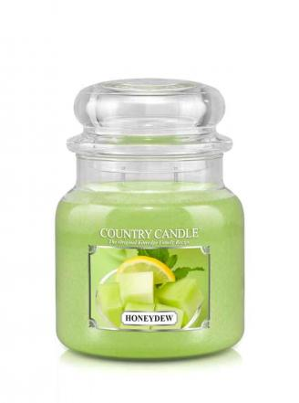 Country Candle - Honeydew - Średni słoik (453g) 2 knoty