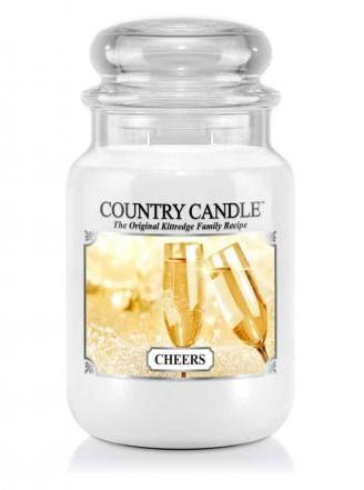 Country Candle - Cheers - Duży słoik (652g) 2 knoty