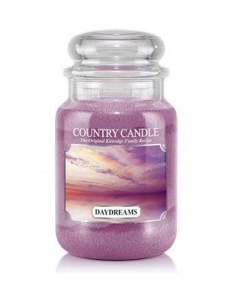 Country Candle - Daydreams - Duży słoik (652g) 2 knoty