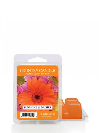 Country Candle - Sunshine & Daisies - Wosk zapachowy