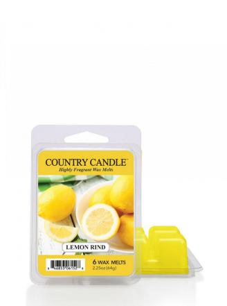 Country Candle - Lemon Rind - Wosk zapachowy