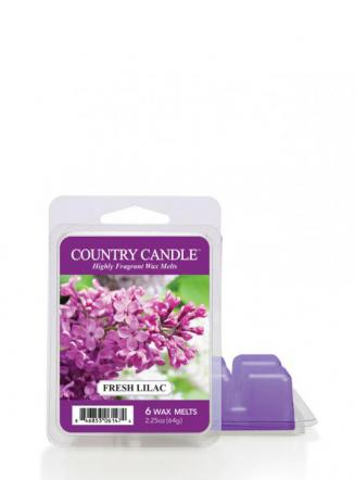 Country Candle - Fresh Lilac - Wosk zapachowy