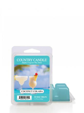Country Candle - Coconut Colada - Wosk zapachowy