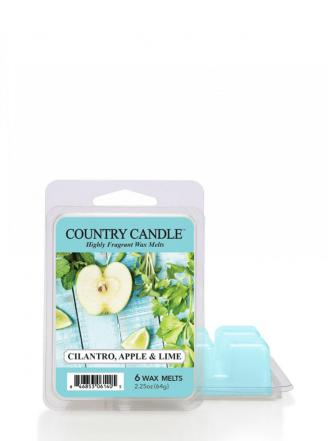 Country Candle - Cilantro, Apple & Lime - Wosk zapachowy