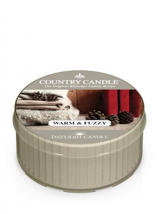 Country Candle - Warm and Fuzzy  - Daylight (35g)