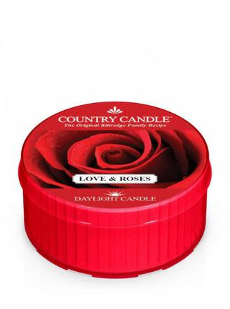 Country Candle  Love & Roses  Daylight (35g)