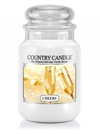 Country Candle  Cheers  Duży słoik (652g) 2 knoty