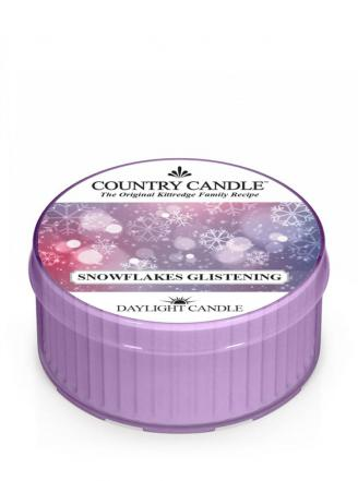 Country Candle  Snowflakes Glistening  Daylight (35g)