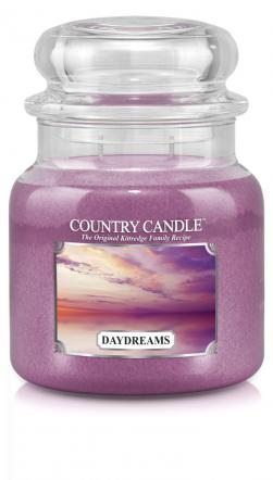 Country Candle  Daydreams  Średni słoik (453g) 2 knoty
