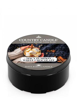 Country Candle  Spicy Pumpkin White Chocolate  Daylight (35g)