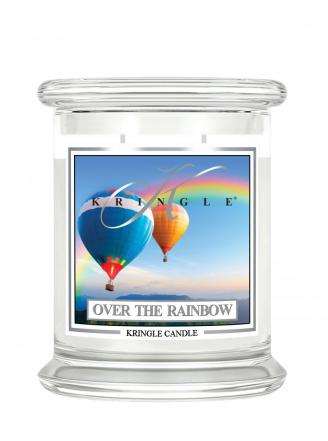 Kringle Candle  Over the Rainbow  średni, klasyczny słoik (411g) z 2 knotami