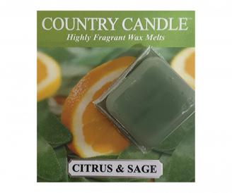 Country Candle  Citrus and Sage  Próbka (ok. 10,6g)
