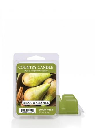 "Country Candle  Anjou & Allspice  Wosk zapachowy ""potpourri"" (64g)"