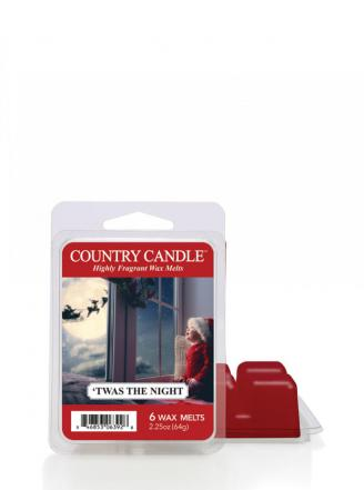 "Country Candle  Twas the Night   Wosk zapachowy ""potpourri"" (64g)"