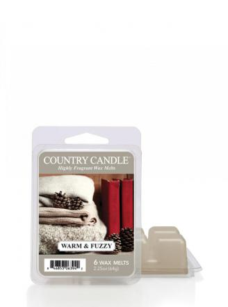 "Country Candle  Warm and  Fuzzy  Wosk zapachowy ""potpourri"" (64g)"