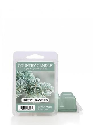 "Country Candle  Frosty Branches  Wosk zapachowy ""potpourri"" (64g)"